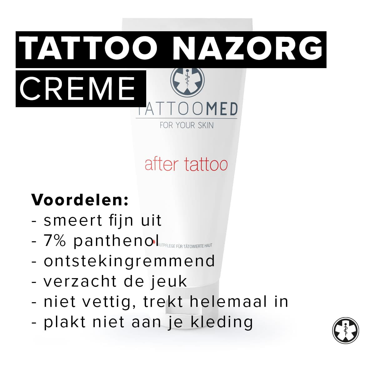Tattoomed | Tattoo nazorg