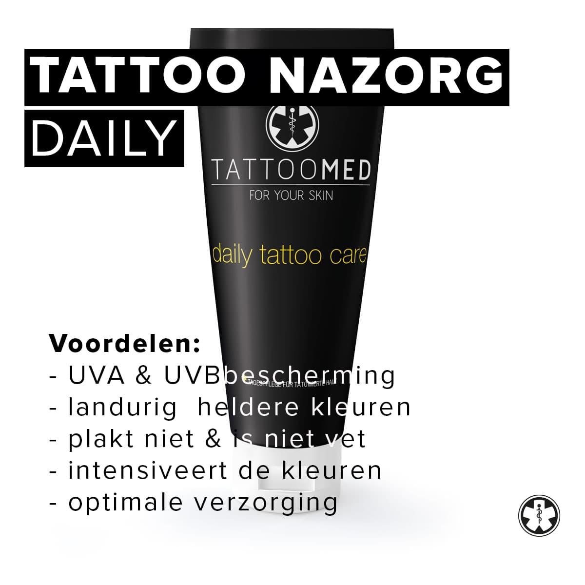 Daily Tattoo Care | Tattoo nazorg